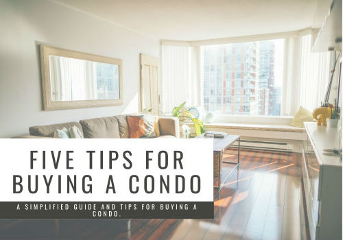 Five Tips for Buying a Condo